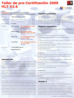 Programa de Pre-Certificación