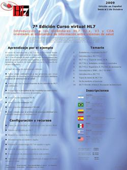 7ª Edición curso virtual HL7
