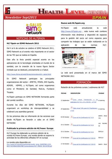 Nuevo Newsletter